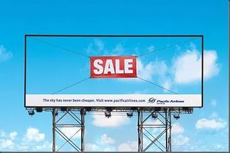 The sky is on sale