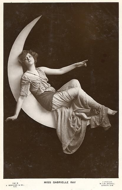 """look up other 'vintage moon prop photographs"""" for better moons--but this seemed fun for your pretty girl pictures.... inspiration.."""