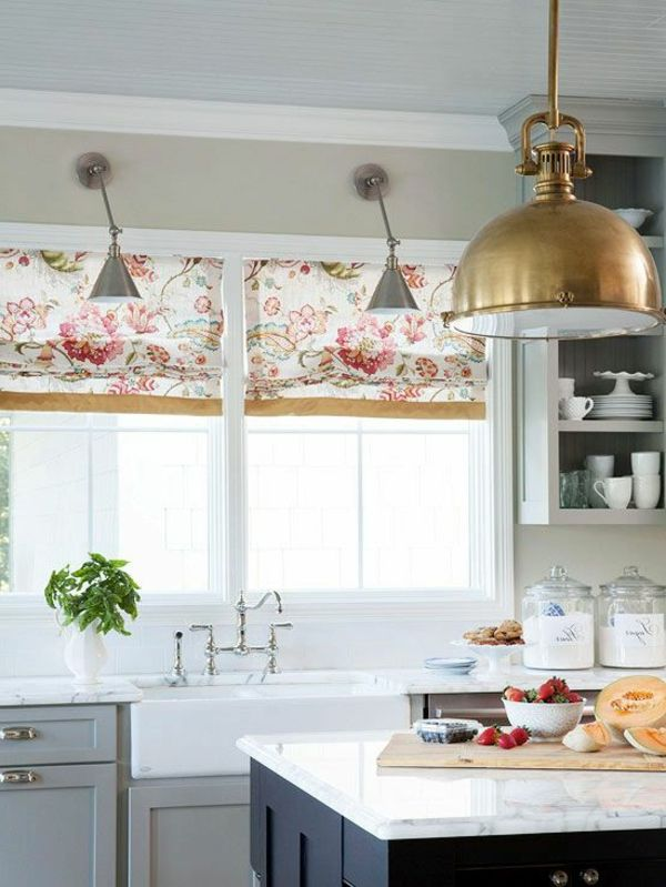 best 25+ raffrollo küche ideas on pinterest | gardinen raffrollo ... - Raffrollo Für Küche