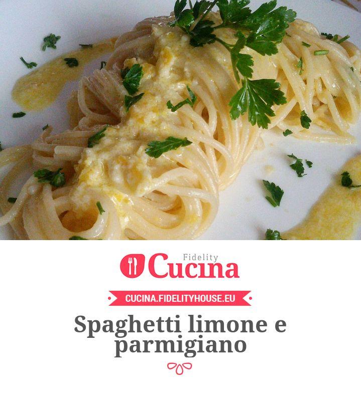 Spaghetti limone e parmigiano