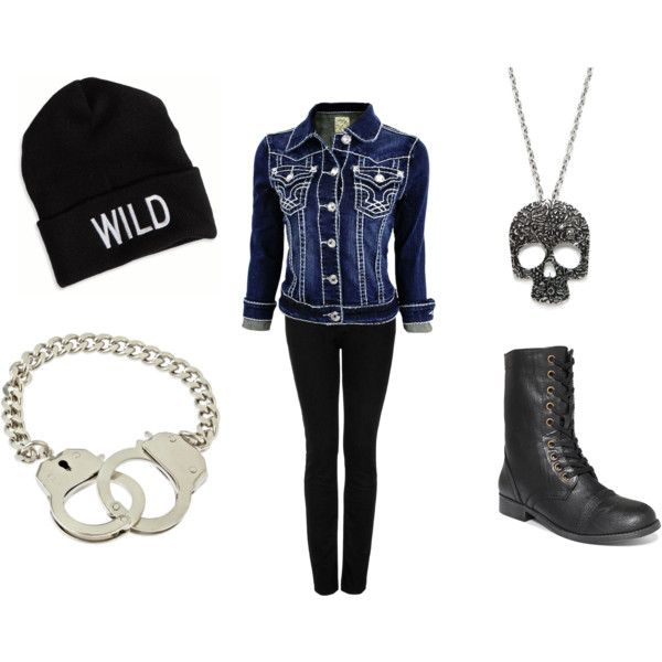 """Cute Punk Outfit"" by mbbamagirl on Polyvore"