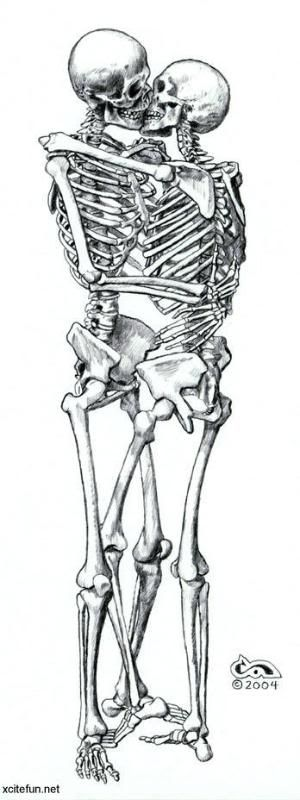skeletons-kissing.jpg Photo:  This Photo was uploaded by hugatree. Find other skeletons-kissing.jpg pictures and photos or upload your own with Photobuck...