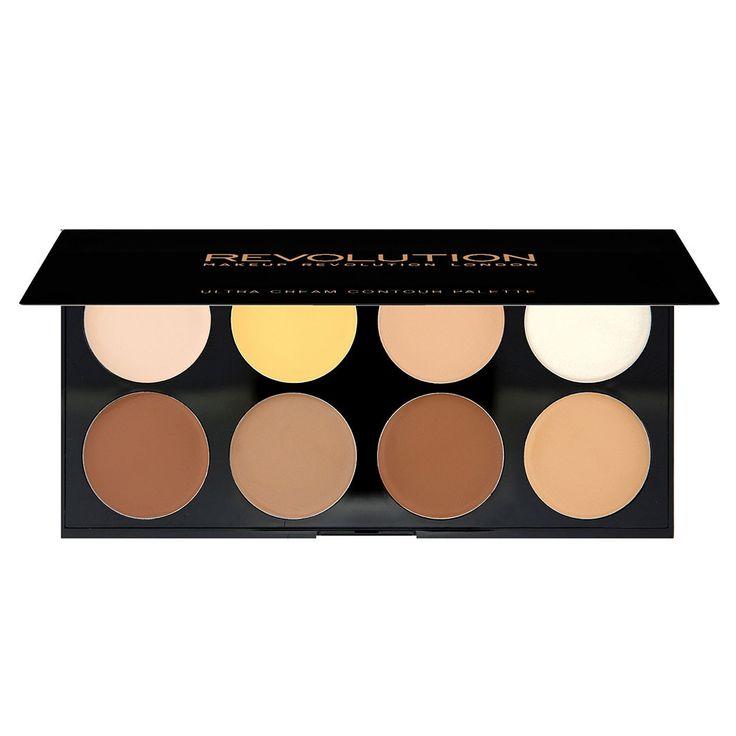 Makeup Revolution Ultra Cream Contour Kremowa Paleta do Konturowania