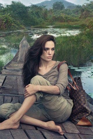 Angelina Jolie for LV.                                                          …