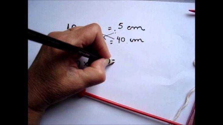 Este video fornece dicas de como calcular a quantidade de pontos para fazer peças em tricô.