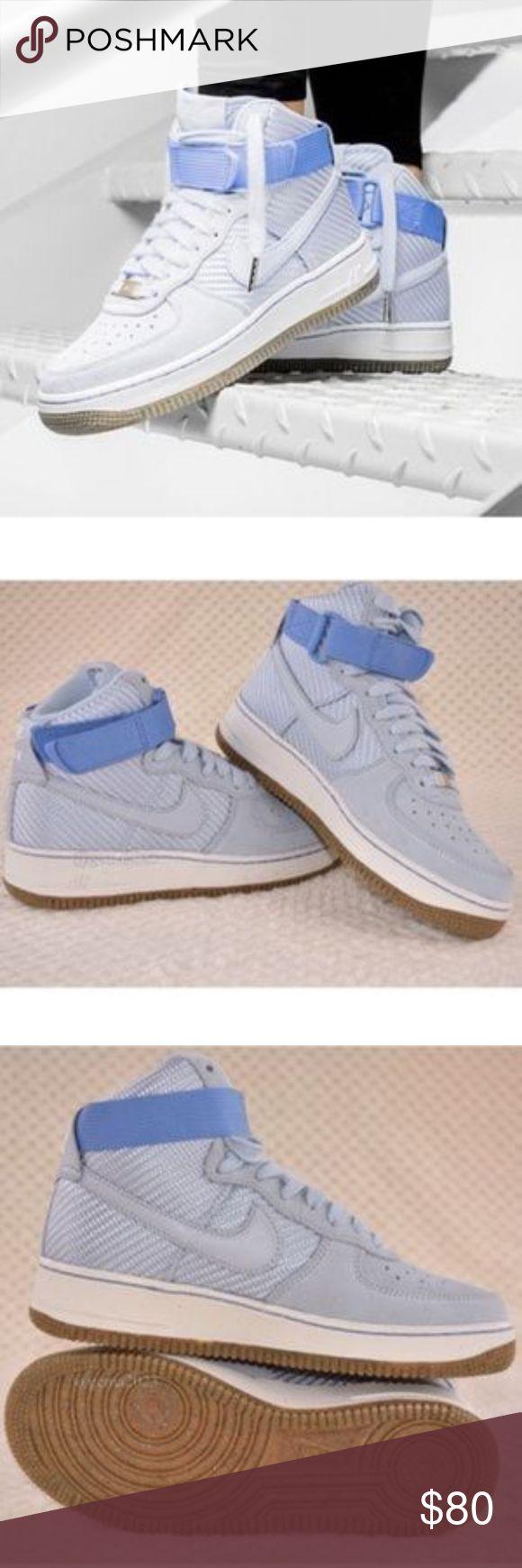 NEW! Nike Air Force 1 High PRM WMNS Nike WMNS Air Force 1