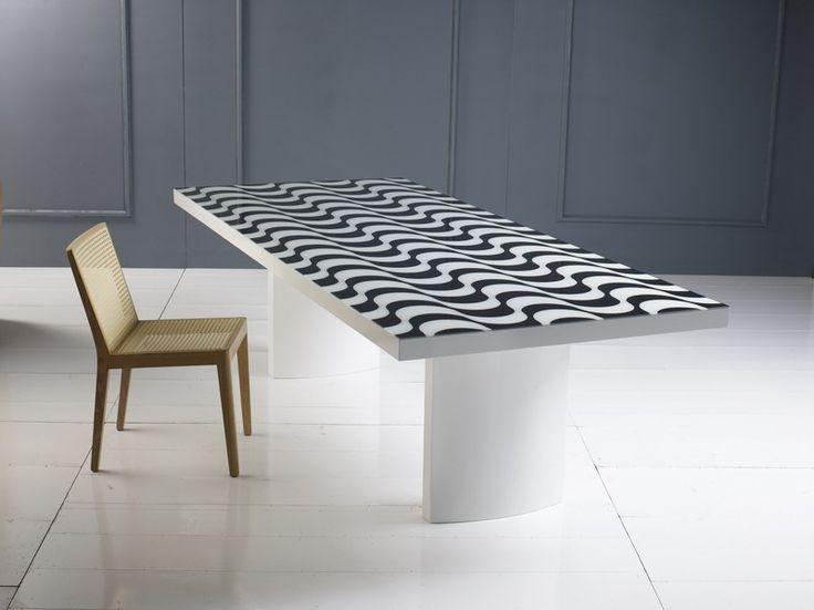Mesa comedor madera o madera lacada