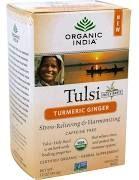 Organic India Caffeine Free Tulsi Tea, Turmeric Ginger, Infusion ...