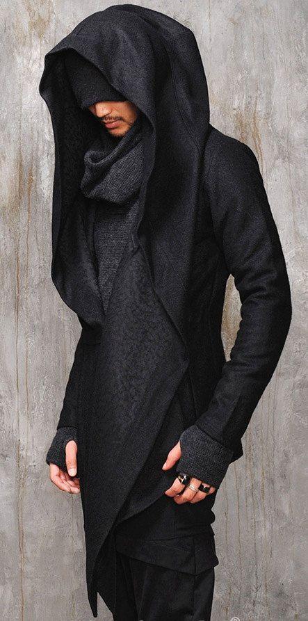 Dark Edgy Diabolic Sharp Avant Gard Ps Style And Hooded Capes