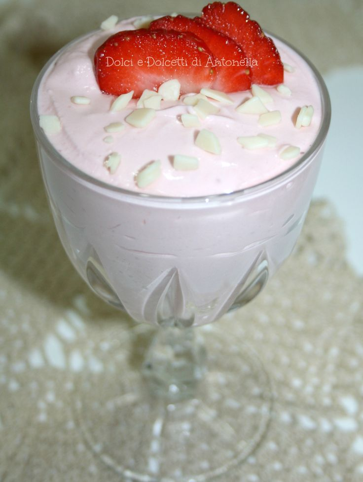 Mousse di fragole, Ricetta dolce