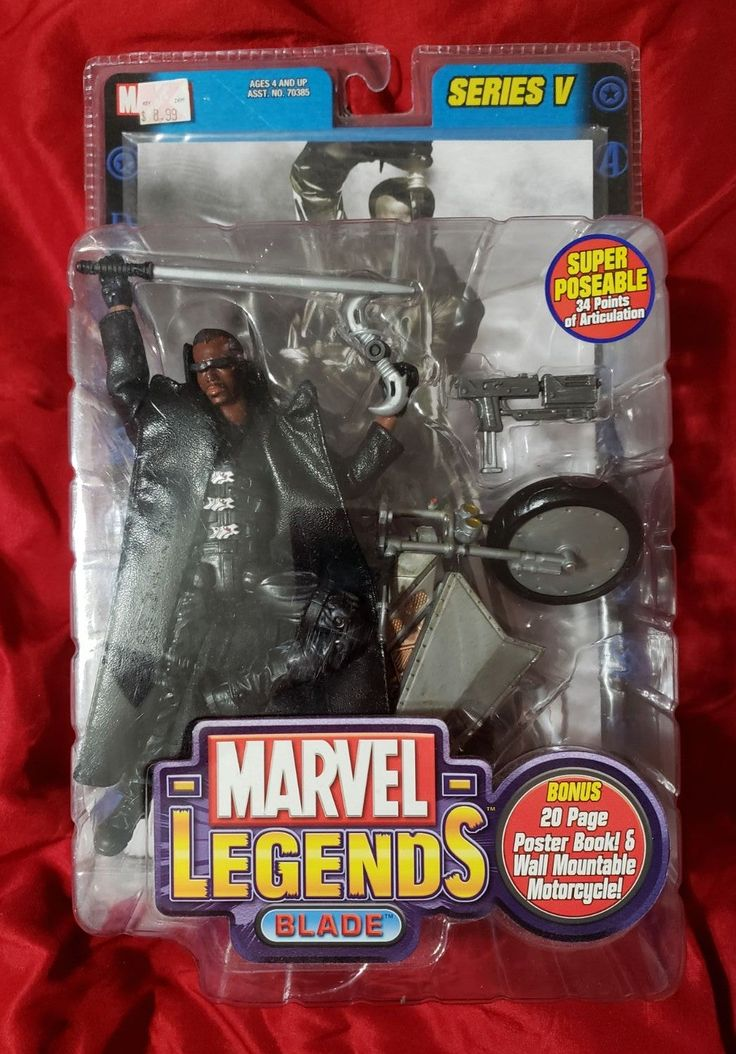 Figure is new in package. Very rare, super cool. Marvel