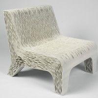 Nice looking 3d printed chair