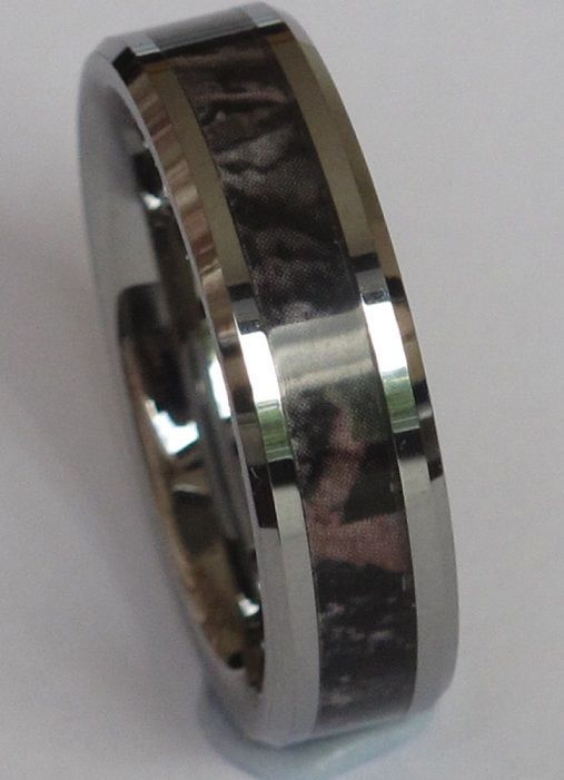 New StyleTungsten Carbide Ring-Band Camouflage,Mosy Camo,Ring-Band,width 8mm