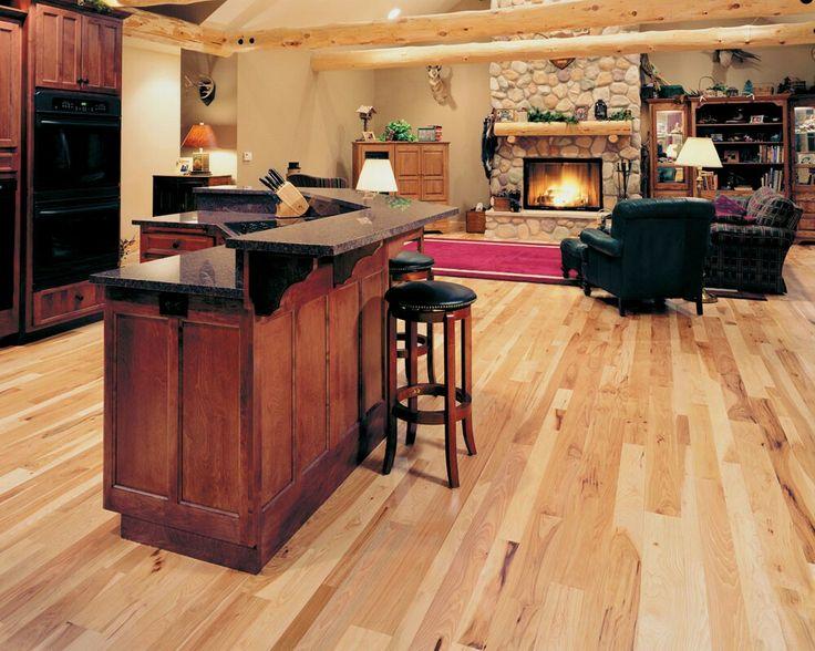 Hickory Bodenbelag, Hartholz Böden, Küchen Bodenbelag, Der Boden,  Küchenumbau