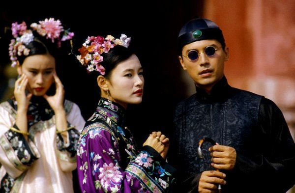 Joan Chen and John Lone in The Last Emperor (1987) dir. Bernardo Bertolucci.