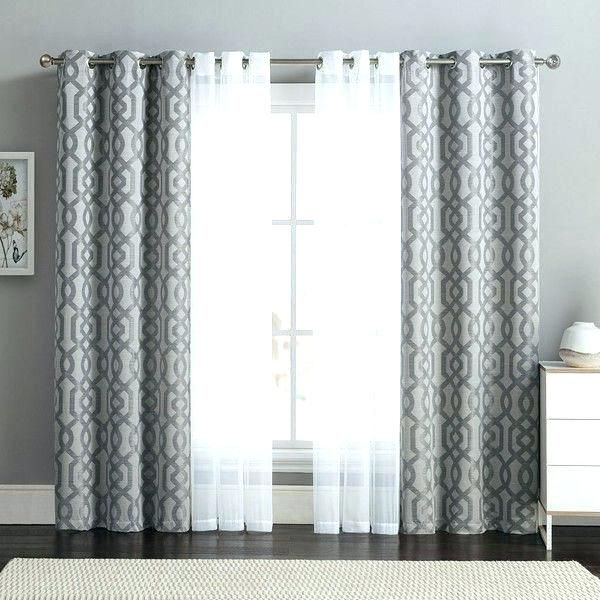 Double Curtain Rod Ref Curtains Living Room Beautiful Living