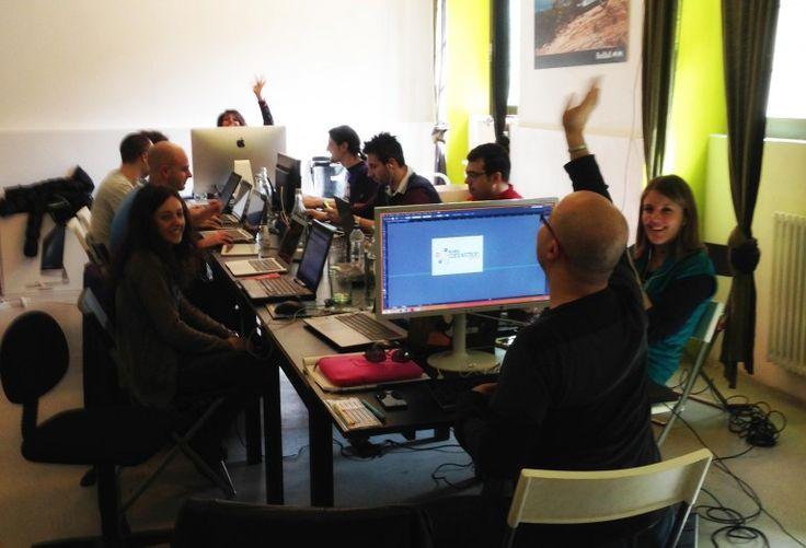 #TheHub #Coworking #UfficioManifesto #Work #trasloco