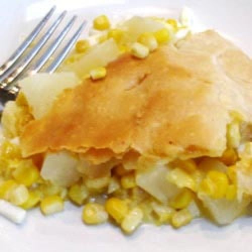 Pennsylvania Dutch Corn Pie Recipe