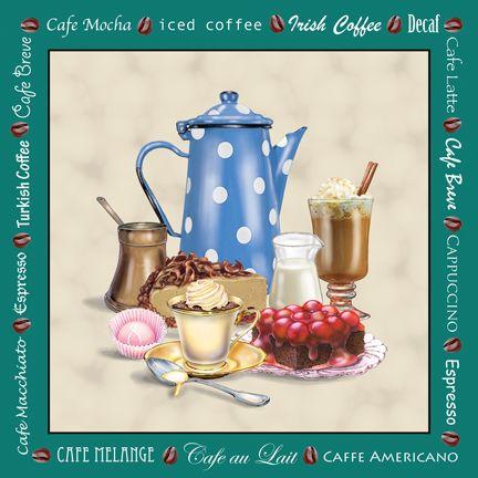 """""""Café Green"""" by Rosiland Solomon"""