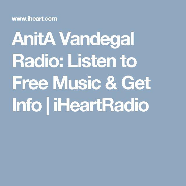 AnitA Vandegal Radio: Listen to Free Music & Get Info | iHeartRadio