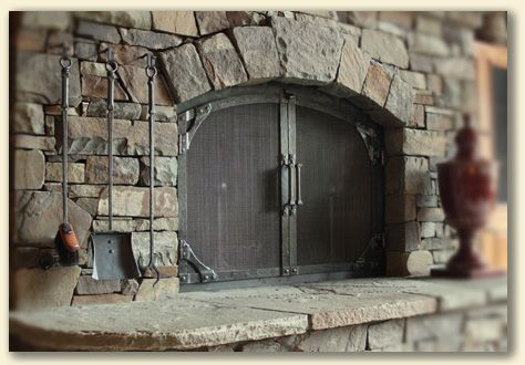 Fireplace Doors Direct Custom Fireplace Doors Arch - Home Remedies For ...