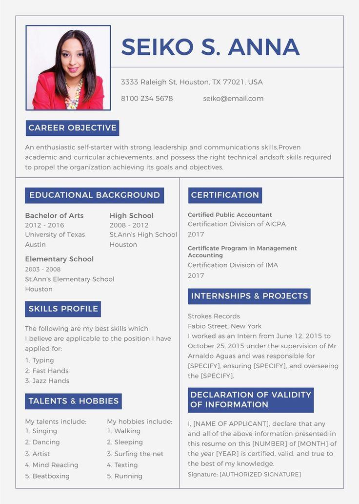 Free college resume college resume college resume