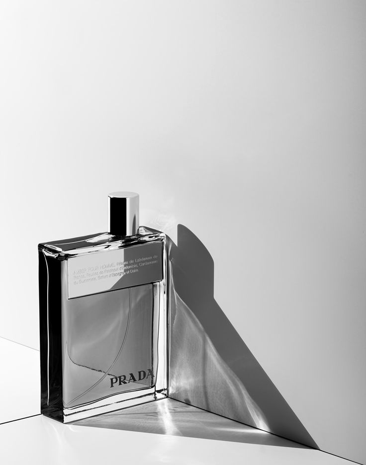 prada perfume, fragrance still life, product photography by marco girado