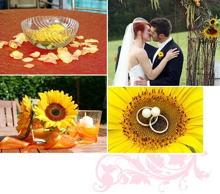 You see sunflowers taking center stage in all kinds of weddings: Western shindigs, oceanside tents, or everywhere the couple wants to convey their carefree, sunny take on love and matrimony.