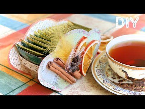 Делаем коробочку для чайных пакетиков своими руками - Ярмарка Мастеров - ручная работа, handmade