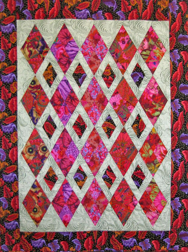 25 Best Ideas About Diamond Quilt On Pinterest