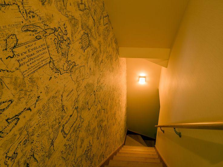 パナソニック耐震住宅工法テクノストラクチャーで建設されたステンドグラスのある家:地下室