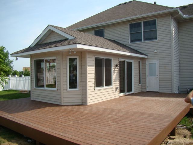 Four season porch addition lakeville mn framing for Room addition ideas for small homes