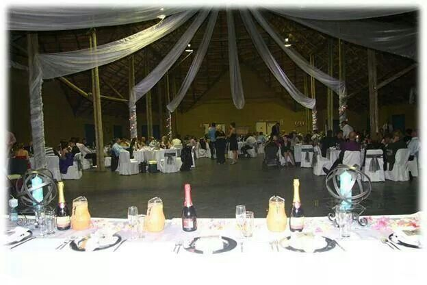 Easy elegance... note that we used no flowers on the tables