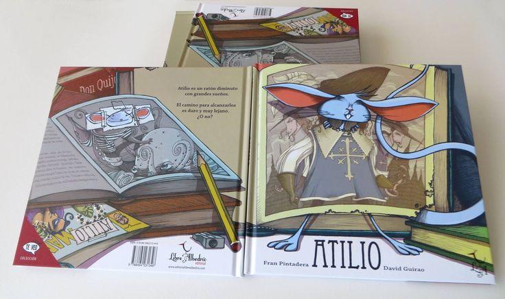 Atilio es un ratón diminuto con grandes sueños. El camino para alcanzarlos es duro y muy lejano. ¿O no? Una historia épica sobre búsquedas e identidades, repleta de humor y referencias a la literatura clásica.