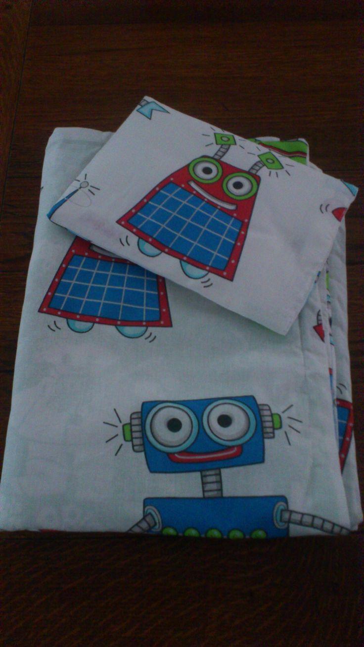 Sängkläder till docksäng på förskolan