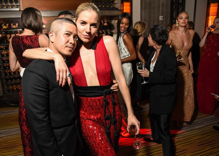 The actress and January Vogue cover girl worked with the New York–based designer Thakoon Panichgul for a sizzling and sparkling ensemble. NZIFF 2016: New Zealand International Film Festival 2016 - Sienna Miller featuring in High-Rise & The First Monday in May #annawintour #metgala #fashion