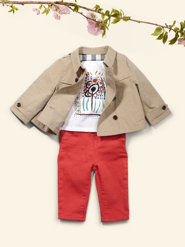 Burberry Kids' Event at Saks.com