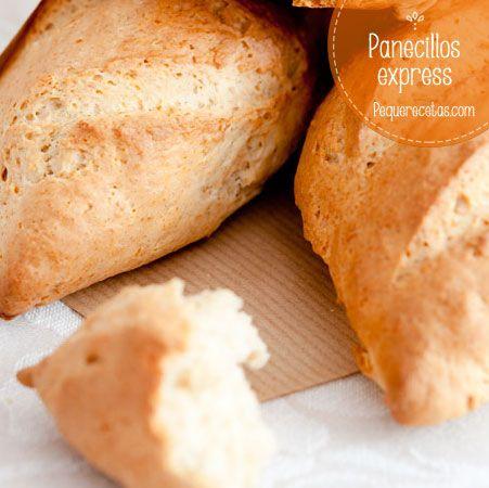 Receta rápida de pan