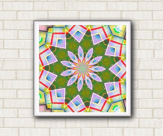 Disegno geometrico stampabile per meditazione. di DreamingMandalas