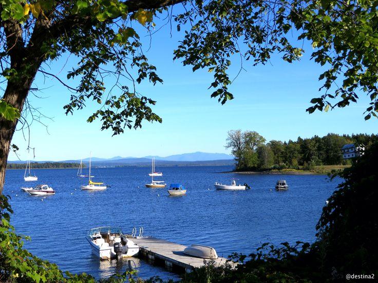 Lago Champlain.- North Hero