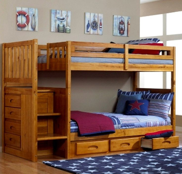 13 Astounding Solid Wood Loft Beds Foto