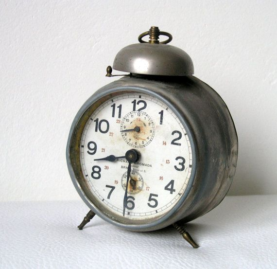 Alarm clock Vintage alarm clock Antique clock Old alarm clock Retro home decor Vintage home decor
