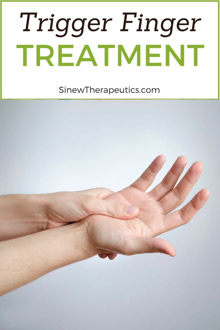 Trigger Finger Treatment - If you have visible swelling, apply the Sinew Herbal Ice on the area to reduce redness, swelling, and inflammation while dispersing accumulated blood and fluids to help restore normal circulation to the ankle. This first-aid treatment is used in place of ice to significantly speed up the healing process. Learn more at SinewTherapeutics.com