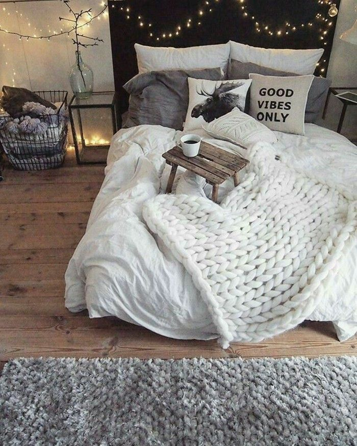 Die besten 25+ Gemütliches schlafzimmer Ideen auf Pinterest - moderner alpenlook schlafzimmer ideen