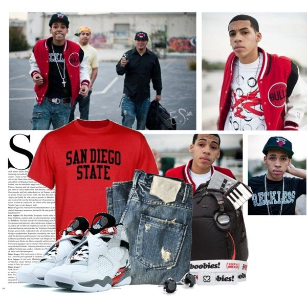 """Sean (San Diego State University)"" by xbree2010 on Polyvore"