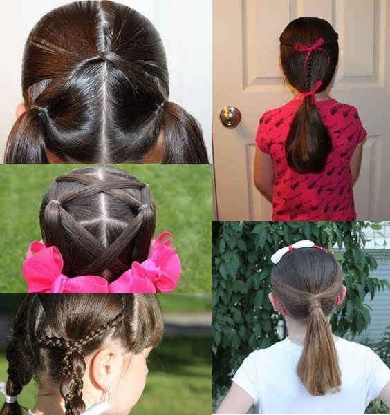 Completely different haircut types for teenagers and updos for women. Hair care and styling tip…