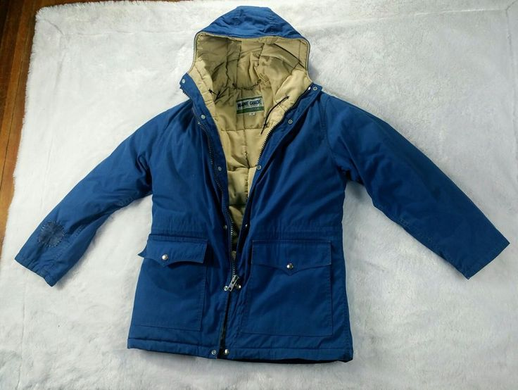 Vintage A Maine Guide By Congress Mens Quilted Down Outdoor Jacket Coat Size 38 | Clothing, Shoes & Accessories, Men's Clothing, Coats & Jackets | eBay!