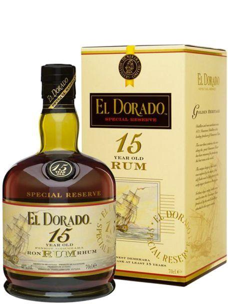 Rom El Dorado 15 YO Finest Demerara