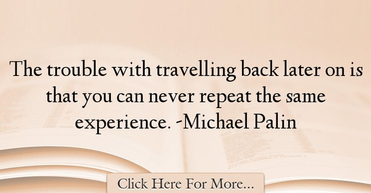 Michael Palin Quotes About Travel - 69149