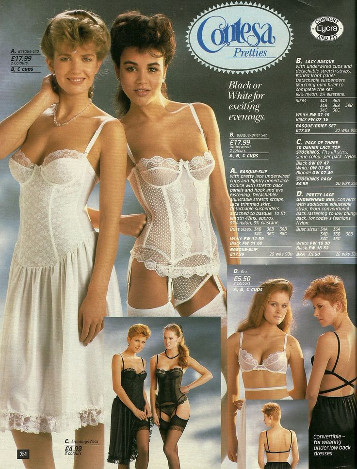 clothes mail order sexy catalog night